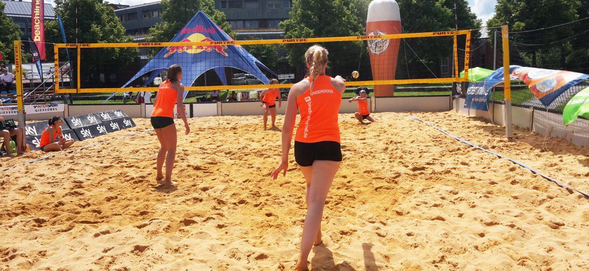 N.H. Young Volley-Spieler bei Deutschen Meisterschaften