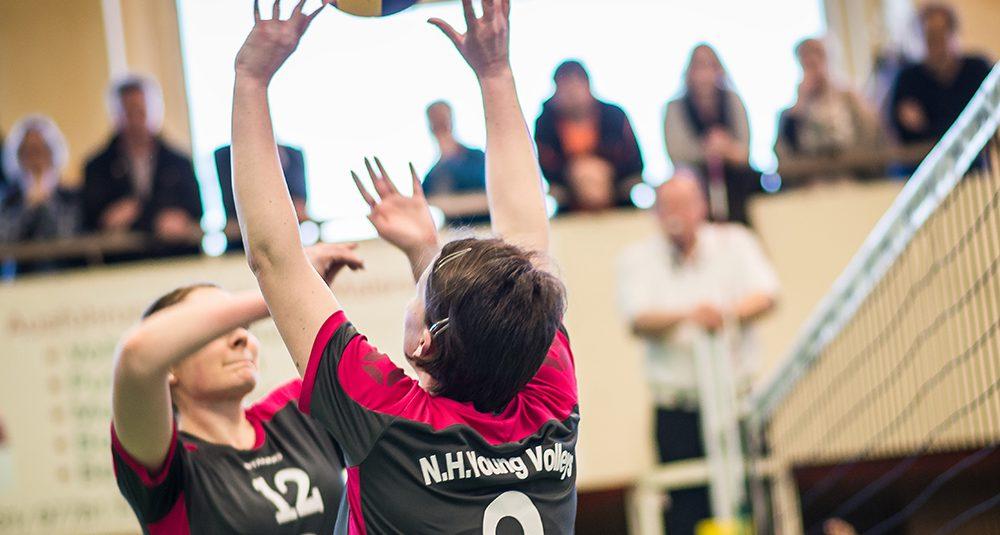 N.H.Young Volleys verpassen knapp die nächste Überraschung