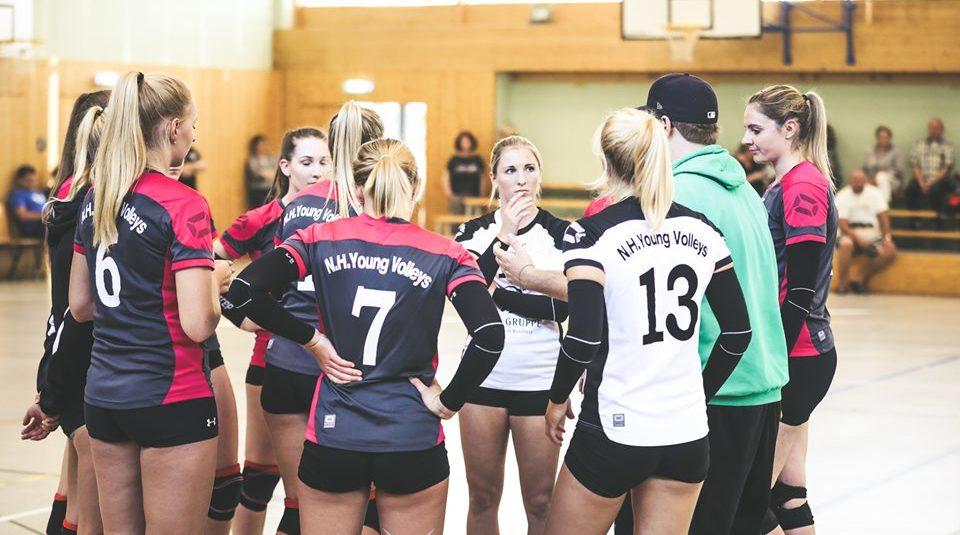 Young Volleys verlieren im Tiebreak