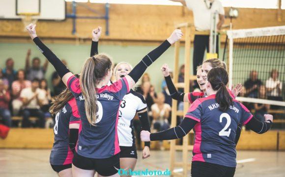 Young Volleys nehmen letzte Hürde vor der Weihnachtspause