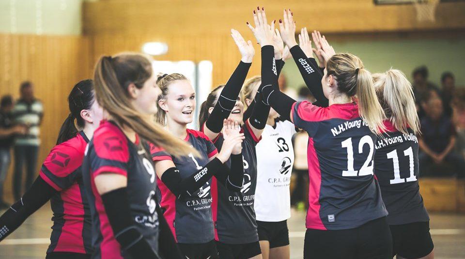 N.H. Young Volleys starten erfolgreich ins neue Jahr