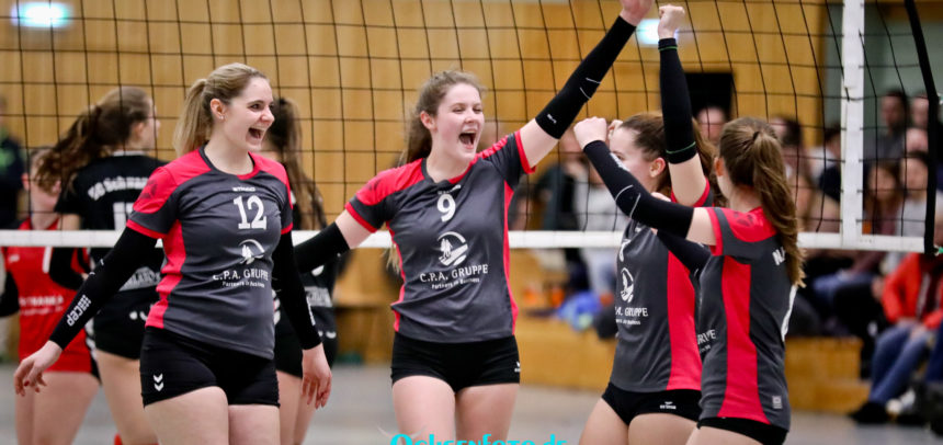 N.H.Young Volleys besiegen Spitzenreiter